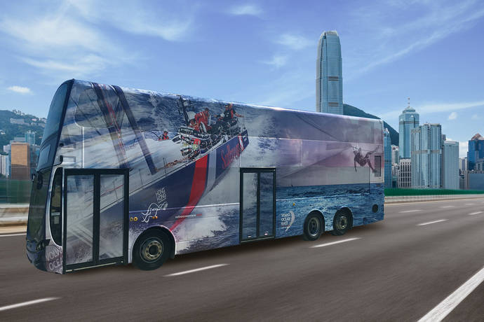 Volvo Buses renueva su chasis para unidades de doble piso: el B8L