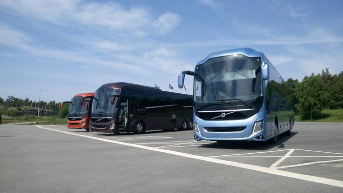 Volvo Buses renueva por completo su gama de autocares con los 9900 y 9700
