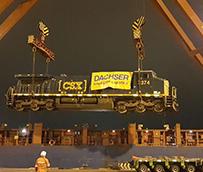 Dachser transporta locomotoras desde el puerto de Houston a Lima