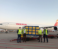 Dachser organiza un vuelo chárter directo de China a España con material médico