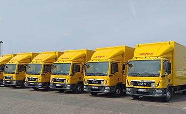 DHL Freight implementa 30 nuevos camiones de alta tecnología