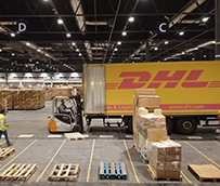 DHL traslada 332 toneladas de material sanitario a Ifema