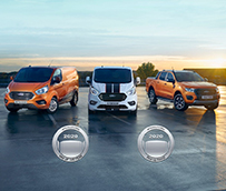 Doblete histórico de premios de Ford en 2019