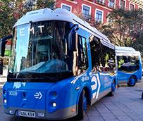 EMT renueva la flota de minibuses eléctricos del distrito Centro