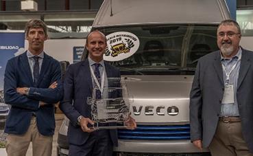 La Iveco Daily Blue Power, galardonada en el Fórum Ecotransporte 2019