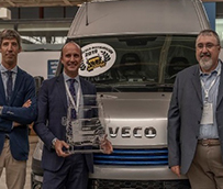 La Iveco Daily Blue Power, galardonada en el Fórum Ecotransporte 2019