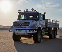 Mercedes-Benz Zetros: el 'camión todoterreno'