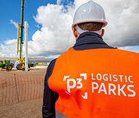 P3 Logistic Parks coloca la primera columna de su proyecto en Illescas