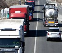 Los transportistas gallegos del carbón siguen con sus protestas