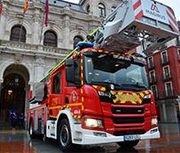 Los bomberos de Valladolid estrenan un camión Scania