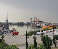 El tráfico de buques con carga de proyecto crece un 312% en Sevilla
