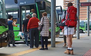 El número de usuarios del transporte público aumenta un 2% en agosto de 2019