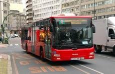 Los usuarios otorgan un notable al transporte urbano de A Coruña