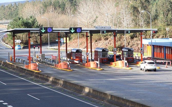 El transporte gallego contra la extención de los peajes a las autovías