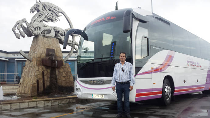 Autocares Sirga adquiere un Iveco Magelys