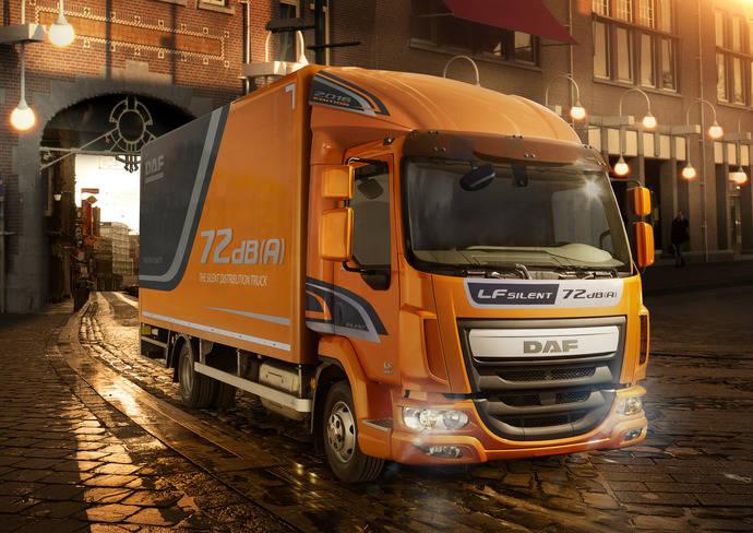 DAF presenta el camión de distribución ultrasilencioso LF Silent