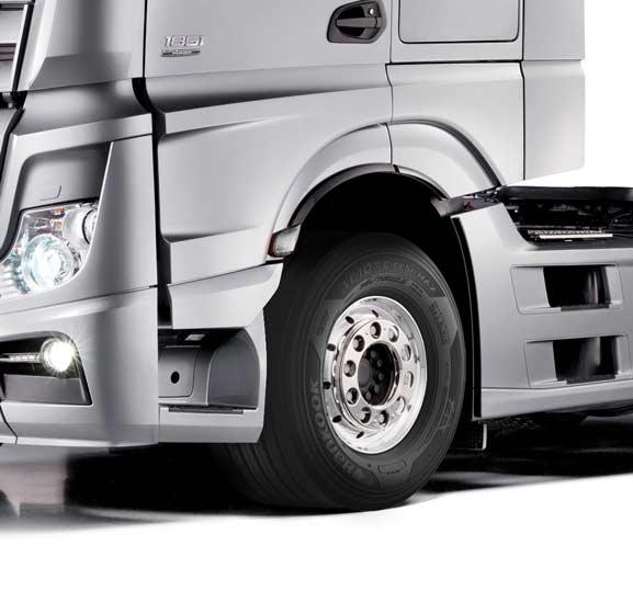 Crece la oferta de neumáticos de equipo original Hankook Tire Premium para camiones, con medidas adicionales
