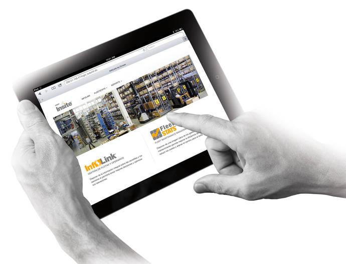 Crown Insite: gestión integrada de datos y más productividad