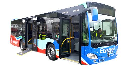 El Ayuntamiento de Etxebarri renueva sus autobuses