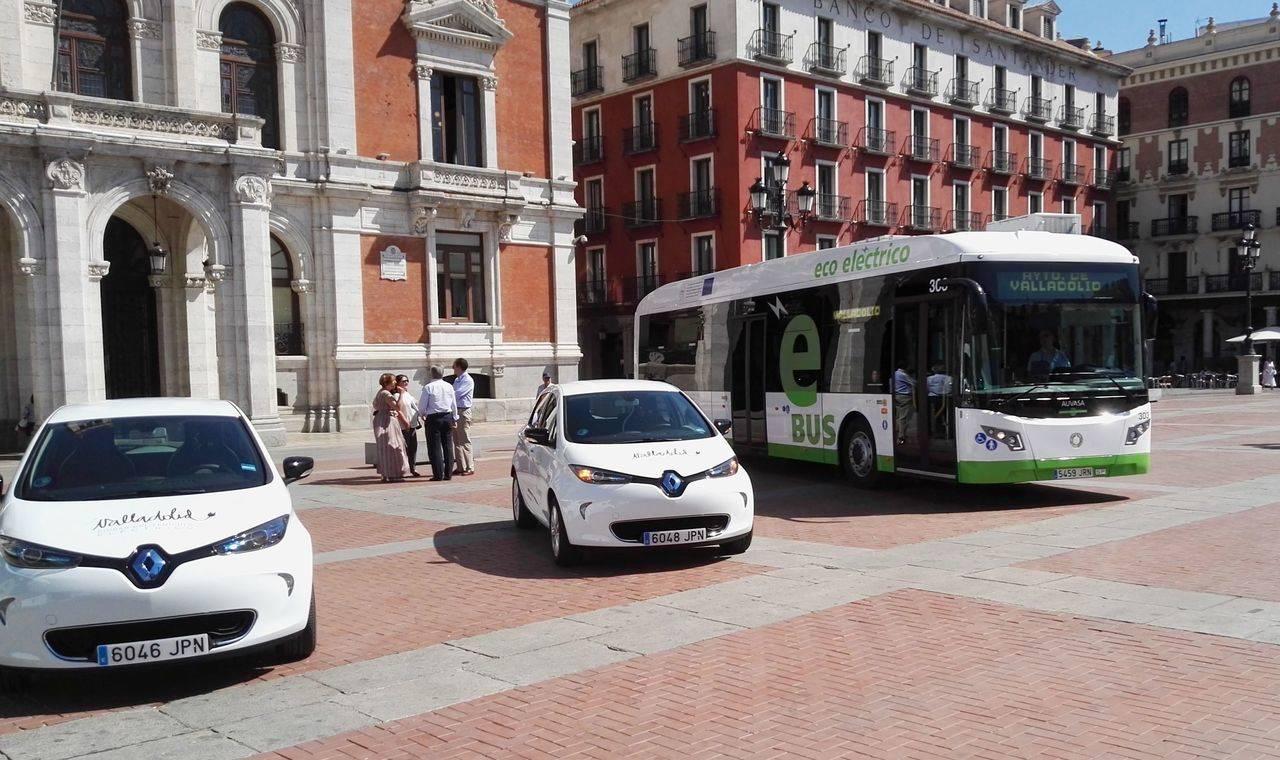 Nuevos autobuses híbridos para la flota municipal de Valladolid