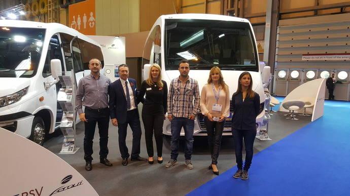 Ferqui ha estado presente en la Feria Euro Bus Expo 2016