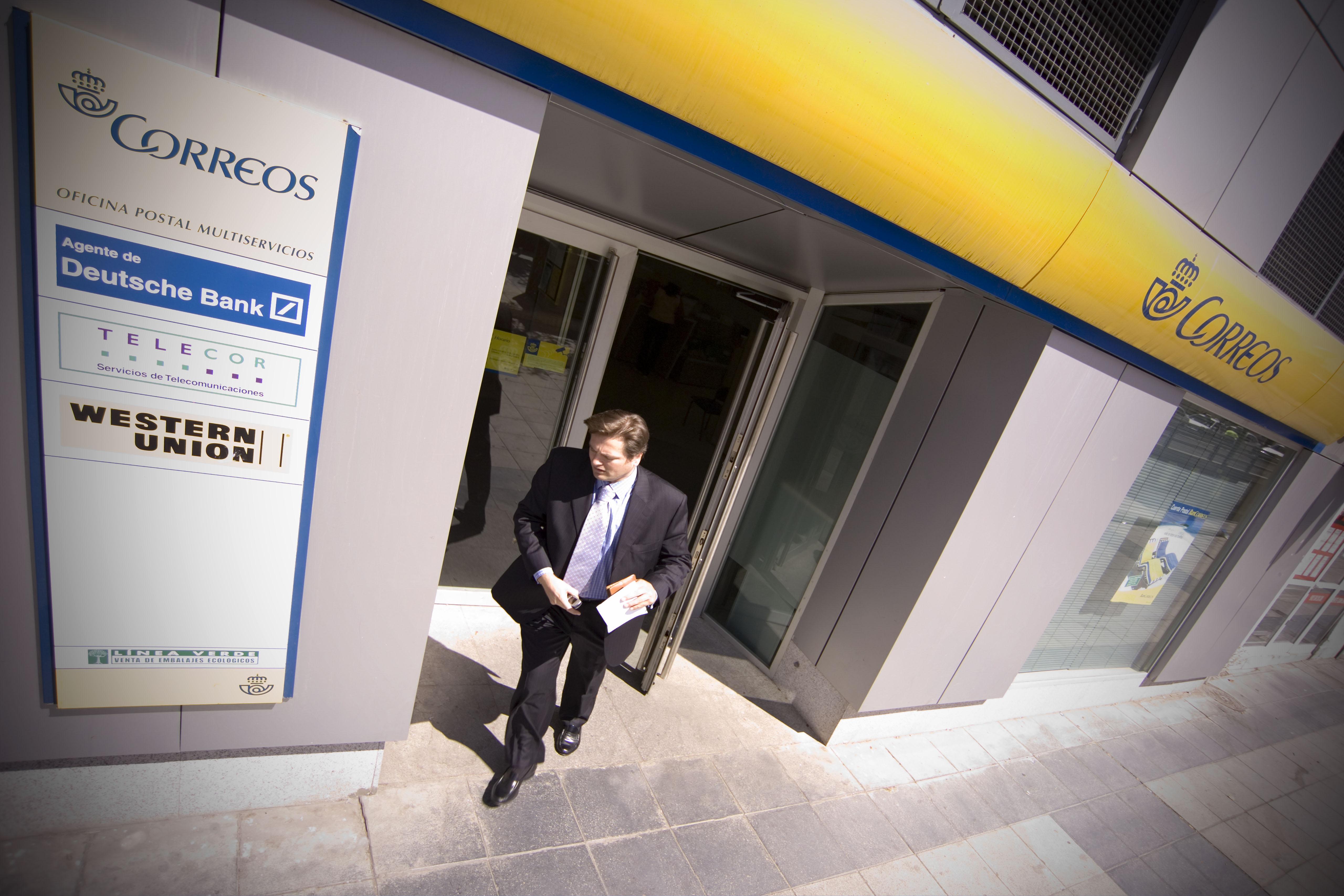 Bancorreos y deustchebank no renovar n la alianza que les for Oficinas de deutsche bank