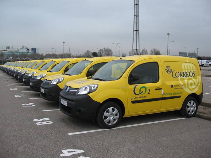 Correos opta por vehículos eléctricos en la renovación de su flota