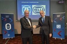 ZF y Hella deciden llevar a cabo la firma de una alianza estratégica