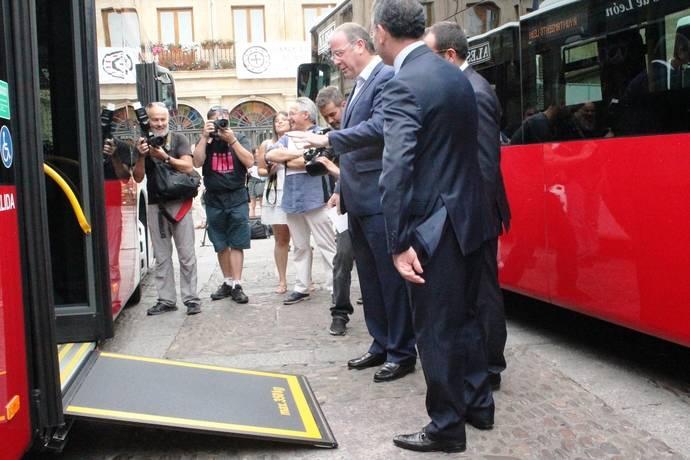 El Ayuntamiento de León amplia la flota de autobuses de la ciudad, con cuatro adquisiciones