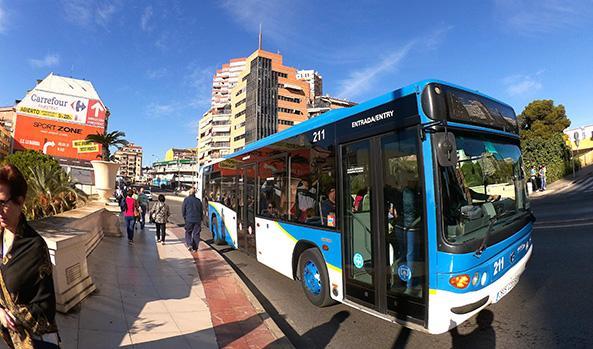 Autobuses gratuitos para alumnos de Selectividad