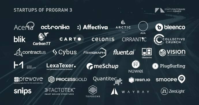 La plataforma Startup Autobahn selecciona 34 empresas para su programa