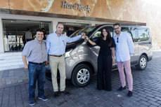 El Fiat Talento se pone al servicio del Hard Rock Café de la isla balear de Ibiza