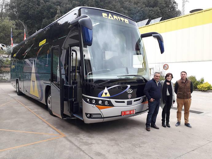 Autocares Canito incorpora una K410EB de Scania a su flota