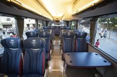 Nuevo autobús del Club Atlético Osasuna.
