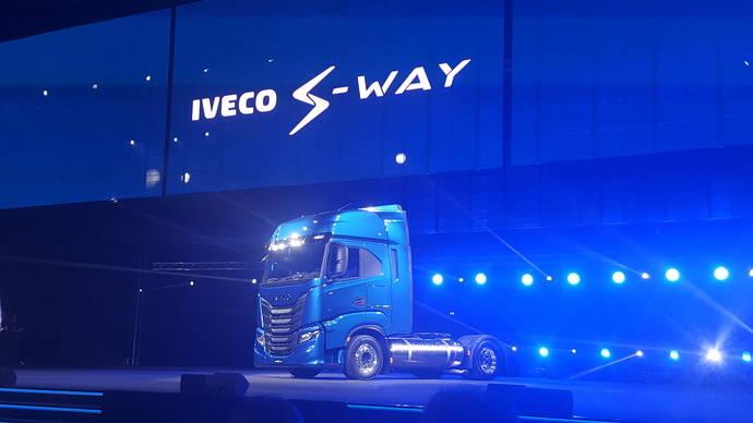 Iveco presenta el S-Way, su apuesta para la larga distancia en la próxima década
