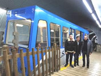 El servicio del funicular de Bulnes (Asturias) se suspenderá los días 12, 13 y 14 de diciembre, por los trabajos de inspección integral