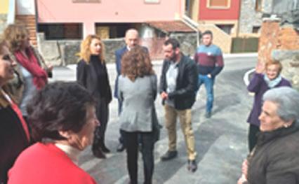 Asturias invierte 591.346 euros en la reparación de la carretera entre Llanos de Somerón y Puente de los Fierros, en Lena