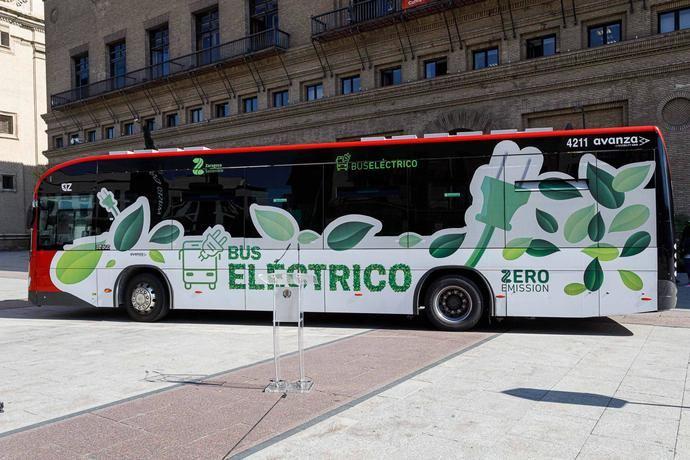 Todos los nuevos autobuses urbanos de Zaragoza serán eléctricos