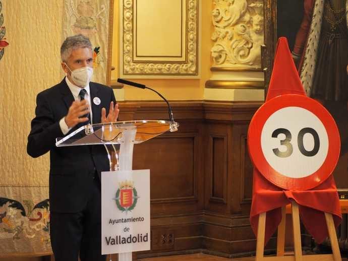 """Marlaska, sobre los 30km/h: """"España, a la vanguardia del movimiento global de las calles de vida"""""""