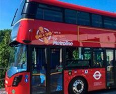 Lanzamiento de flota de autobuses de pila de combustible de dos pisos en Londres