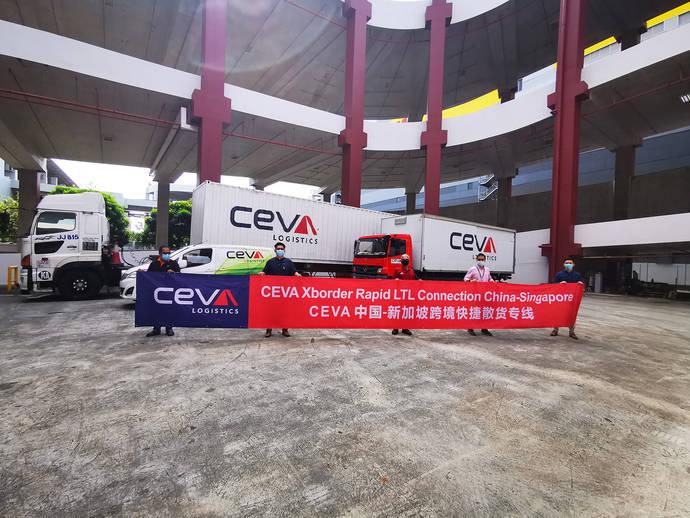 Ceva Logistics amplía sus servicios de transporte al sudeste asiático