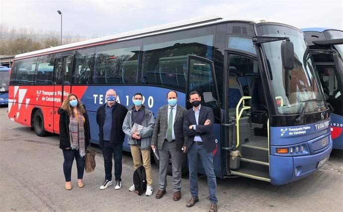 Dos autocares para el transporte escolar de Marruecos, gracias a Teisa