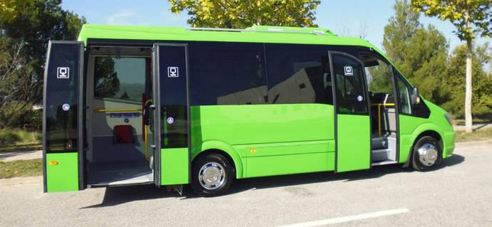 Car-bus.net presenta al mercado su nuevo microbús eléctrico: el eUrban