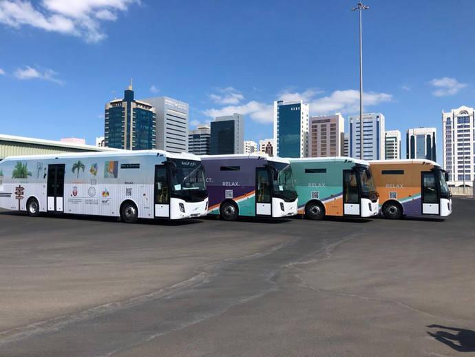Castrosua alcanza las 135 unidades entregadas en Abu Dhabi