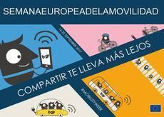 Cartel de la Semana de la Movilidad Europea.