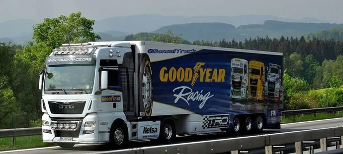 Goodyear finaliza una gran temporada en el Campeonato Europeo de Camiones