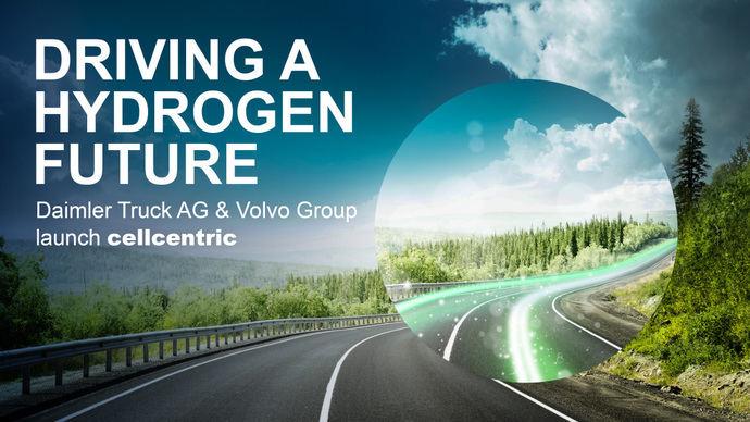 Joint venture Cellcentric: pilas de hidrógeno made in Daimler y Volvo