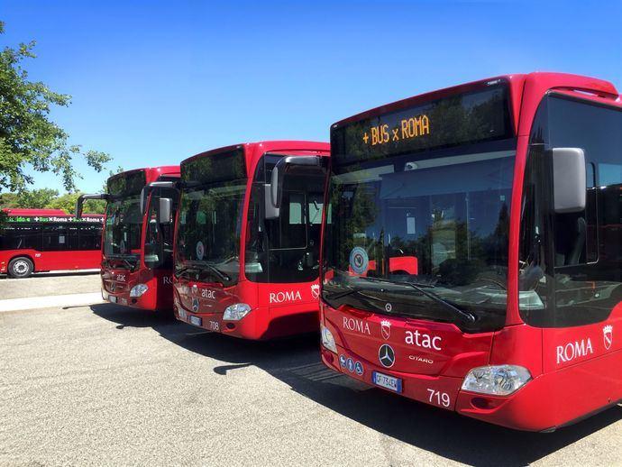 Mercedes-Benz: 100 autobuses Citaro hybrid para Atac, Roma