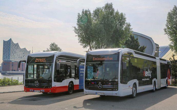 Doble eCitaro G entrega 70 vehículos rumbo a la ciudad de Hamburgo