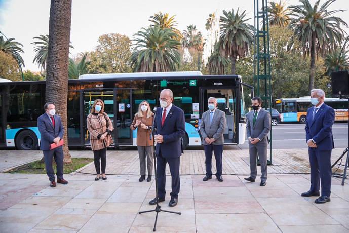 Nuevo sistema de pago a bordo en la EMT de Málaga